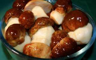 Рецепт Солёные белые грибы: как приготовить, фото