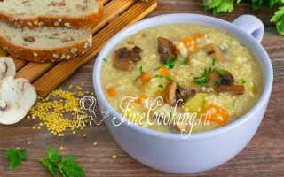 Рецепт Кулеш с грибами: как приготовить, фото