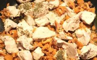 Рецепт Курица запечёная с лисичками: как приготовить, фото