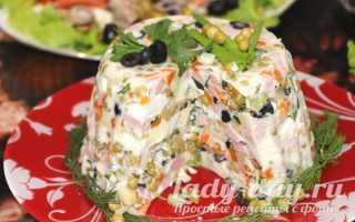 """Рецепт Салат """"Лана"""": как приготовить, фото"""