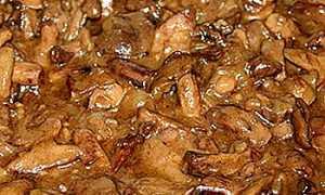 Рецепт Маслята, тушенные со сметаной и сыром: как приготовить, фото