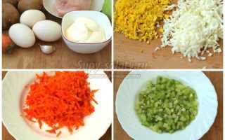 Рецепт Салат «Изумрудный»: как приготовить, фото
